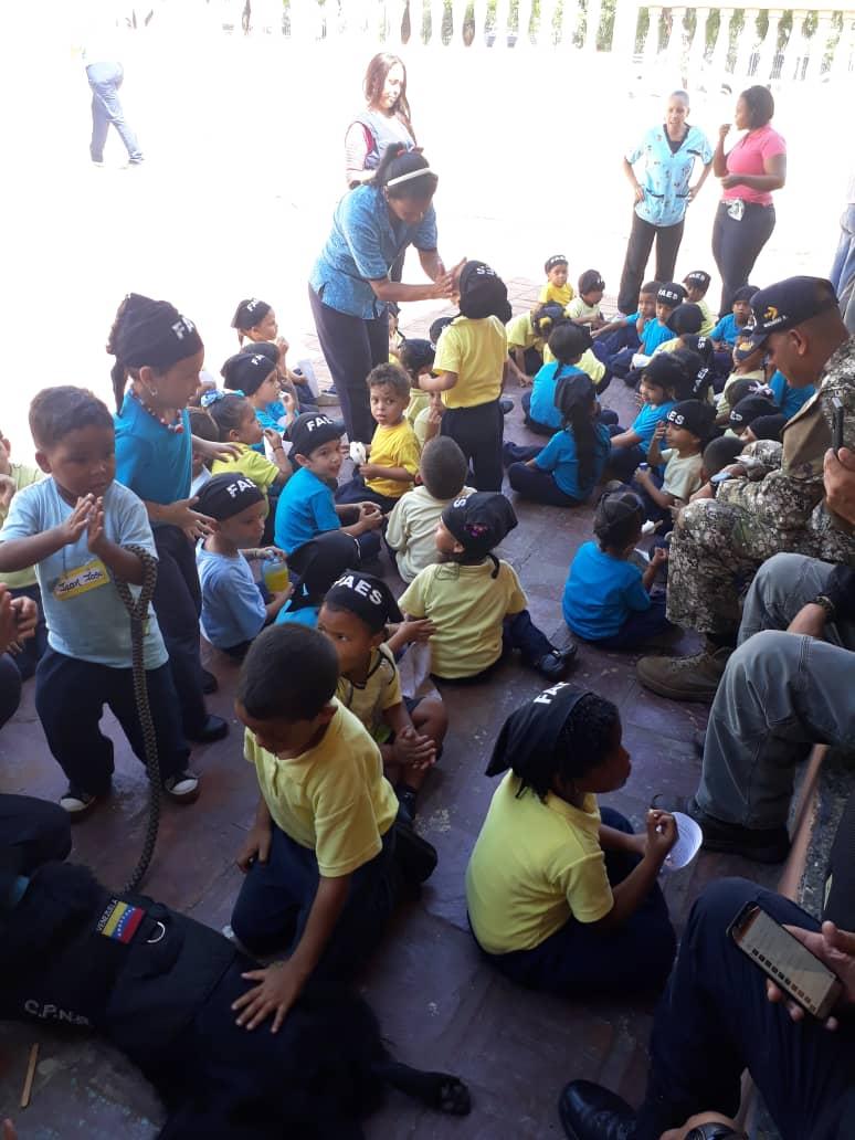 Más de 400 niños beneficiados con jornadas sociales del Faes