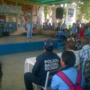 "Festival cultural ""Yo Canto Por la Paz"" sensibilizó espíritu de estudiantes en Portuguesa (1)"