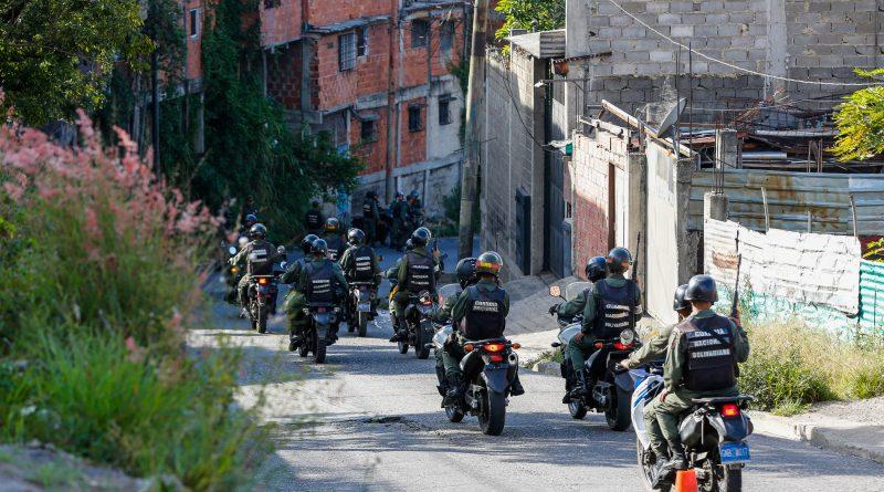 Fortalecen Cuadrantes de Paz en el estado Miranda