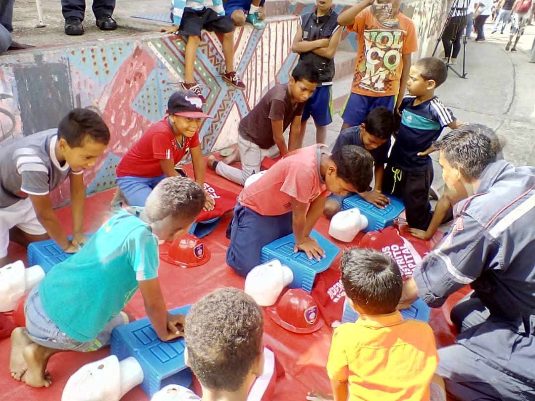 Frente Preventivo abordó más de 720 mil personas en el Distrito Capital en nueve meses (5)
