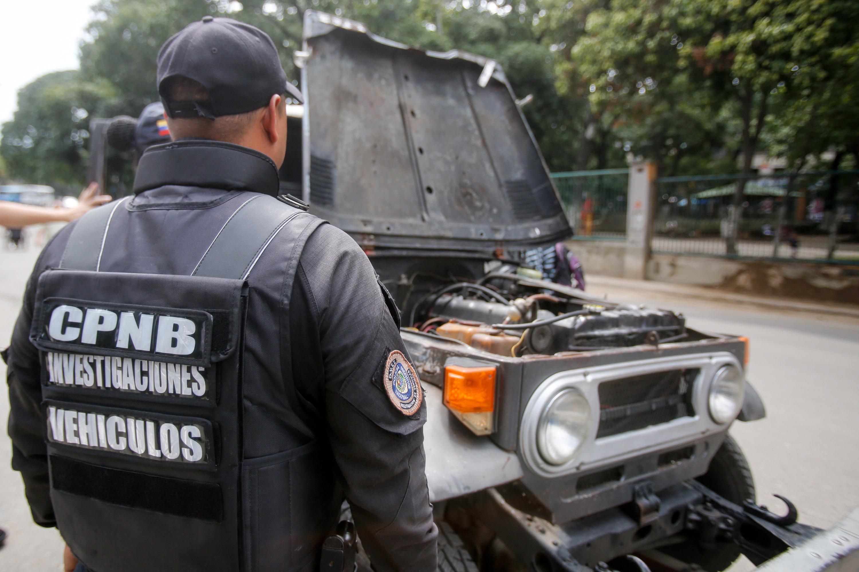 Funcionarios de la PNB desplegados en diversas parroquias de Caracas (17)