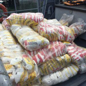 Gobierno nacional envió dos toneladas de insumos a Puerto Maya (1)