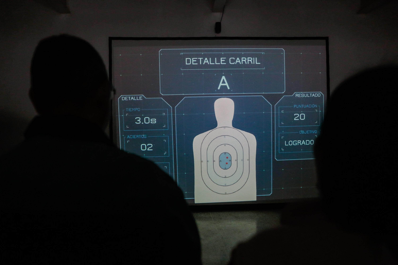 Inaugurado simulador de tiro en la Universidad Nacional Experimental de la Seguridad (14)