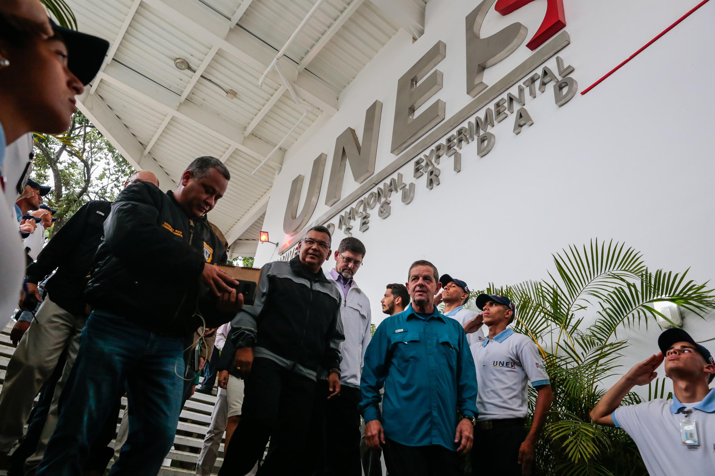 Inaugurado simulador de tiro en la Universidad Nacional Experimental de la Seguridad (2)