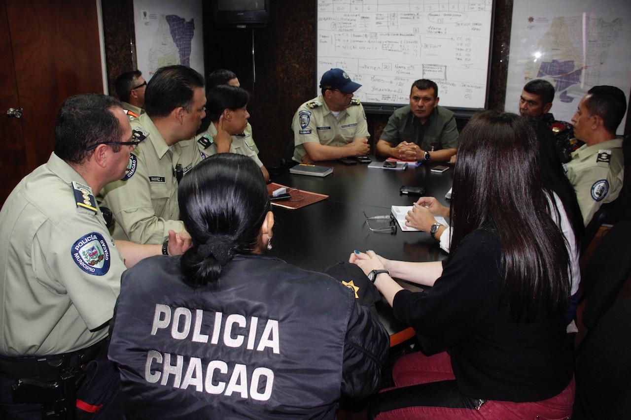 Instalada Junta Interventora del Cuerpo de Policía municipal de Chacao (11)