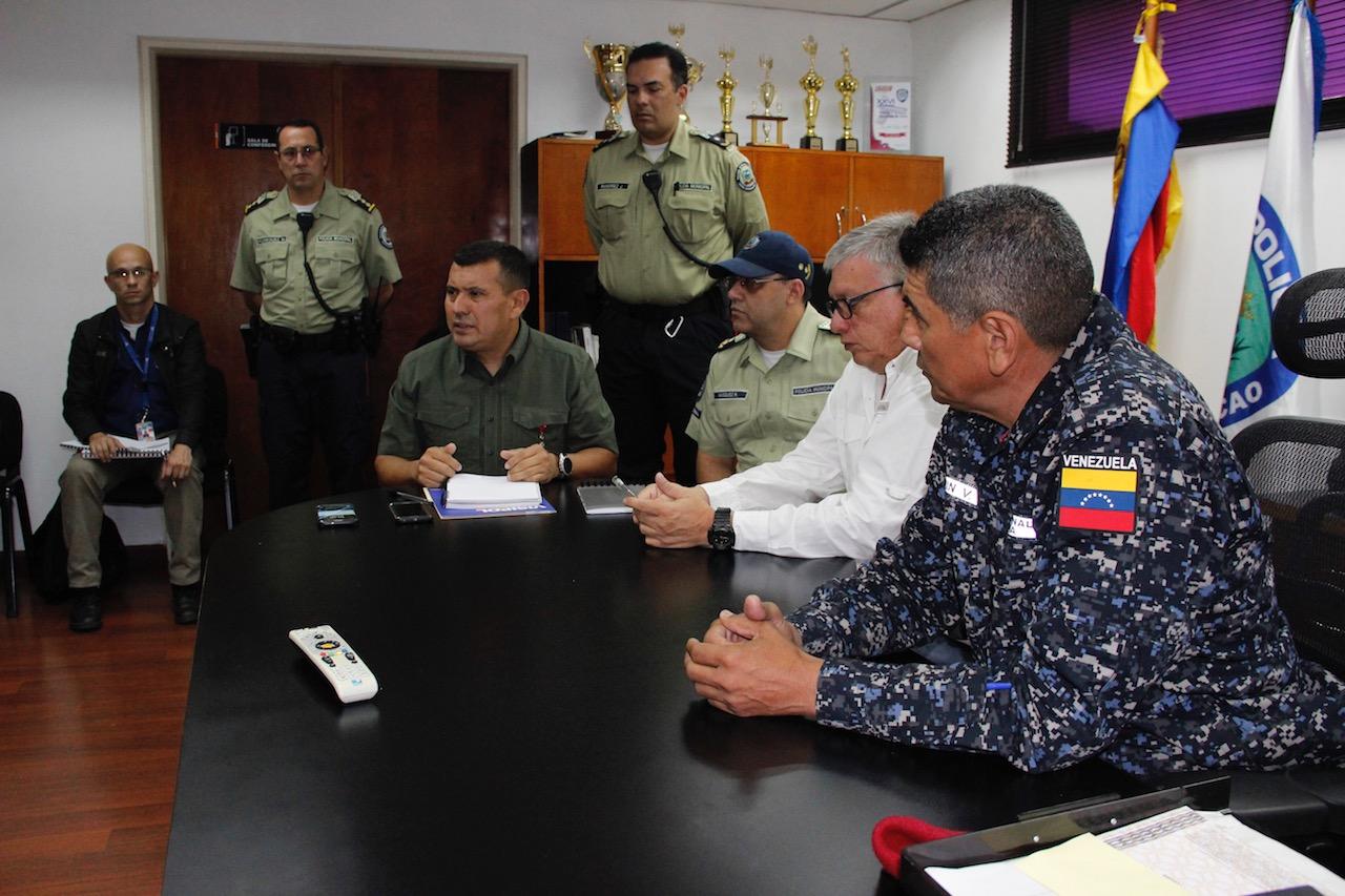 Instalada Junta Interventora del Cuerpo de Policía municipal de Chacao (2)