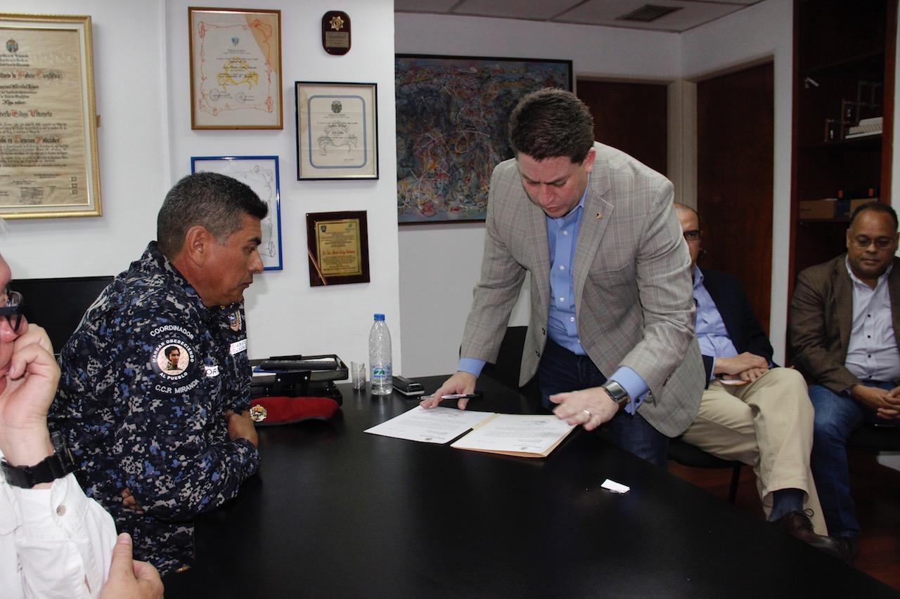 Instalada Junta Interventora del Cuerpo de Policía municipal de Chacao (7)