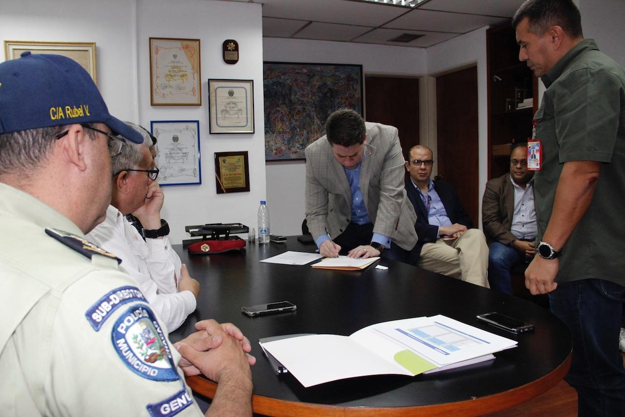 Instalada Junta Interventora del Cuerpo de Policía municipal de Chacao (9)