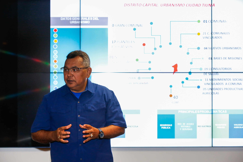 Ministro Néstor Reverol evaluó avances del Plan de Abordaje Integral de Ciudad Tiuna (10)