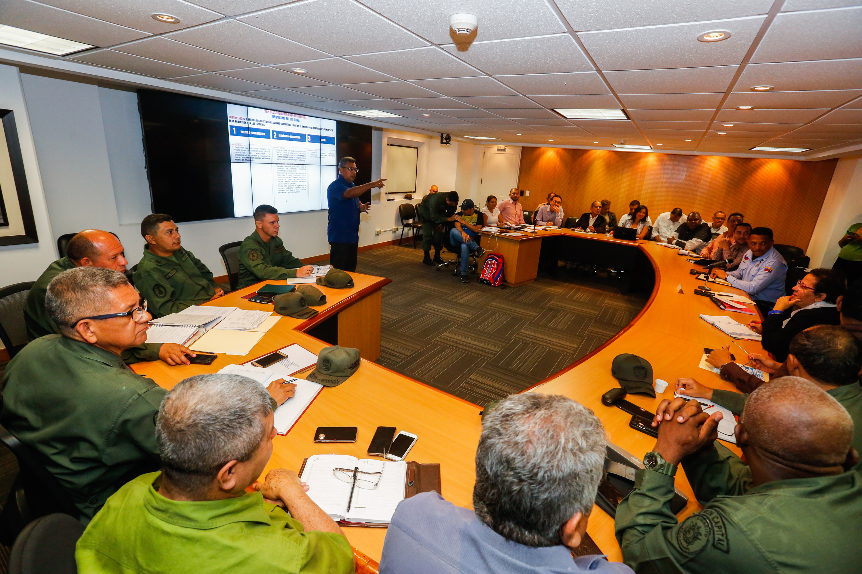 Ministro Néstor Reverol evaluó avances del Plan de Abordaje Integral de Ciudad Tiuna (5)
