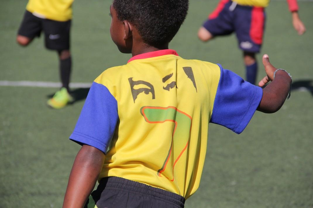 ONA abordó más de 200 niños con un cuadrangular de fútbol en el 23 de Enero (2)