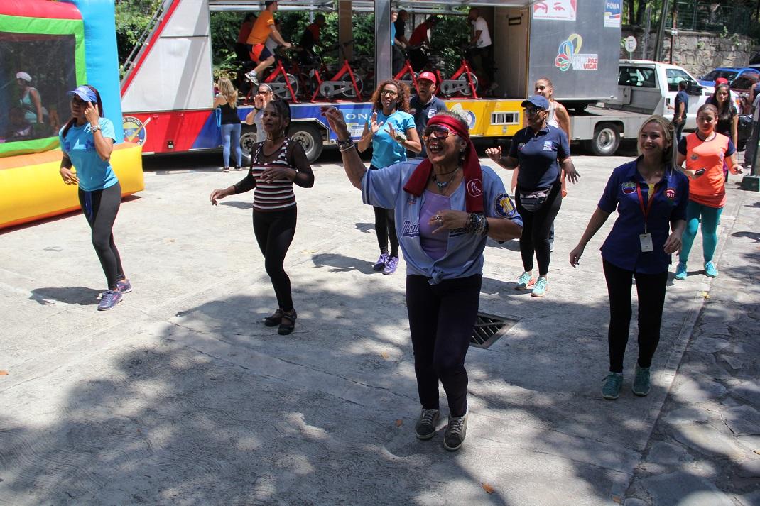 """ONA realiza Actívate con tu Cuadrante de Paz"""" en el Parque Los Chorros (15)"""