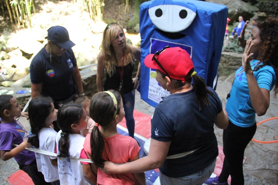 """ONA realiza Actívate con tu Cuadrante de Paz"""" en el Parque Los Chorros (4)"""