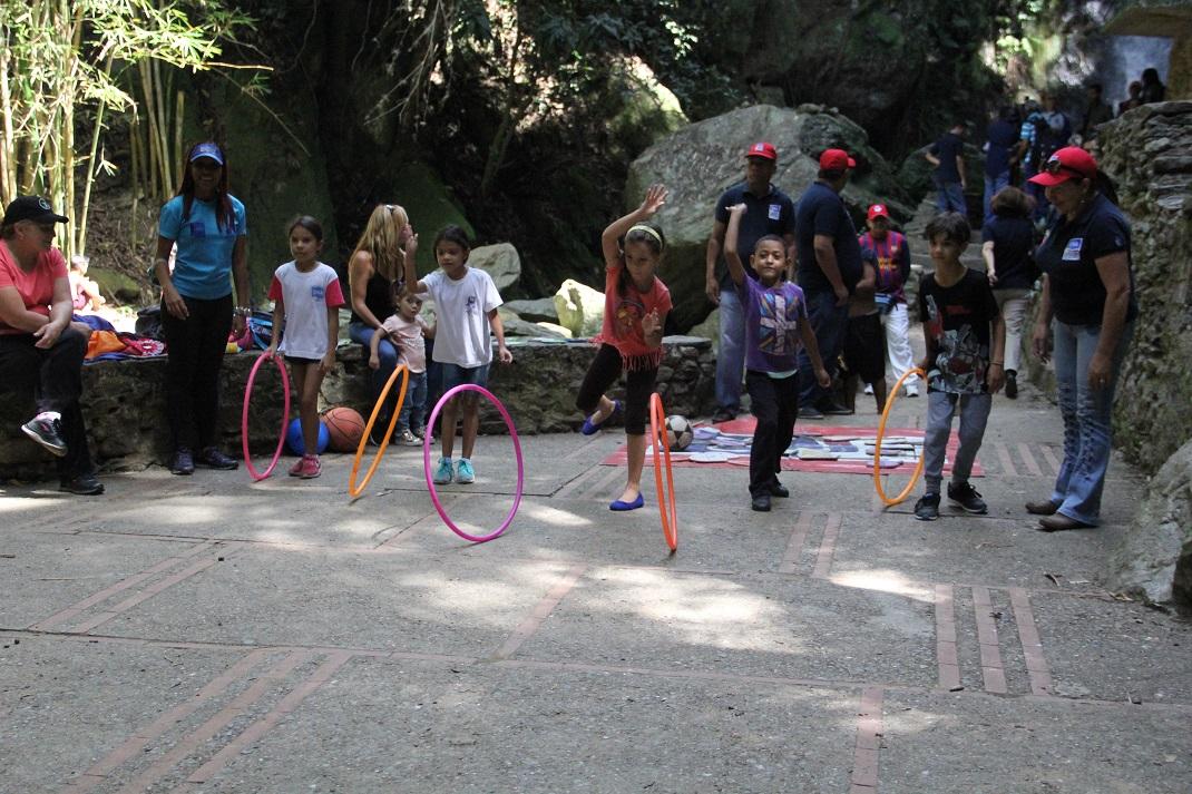 """ONA realiza Actívate con tu Cuadrante de Paz"""" en el Parque Los Chorros (6)"""