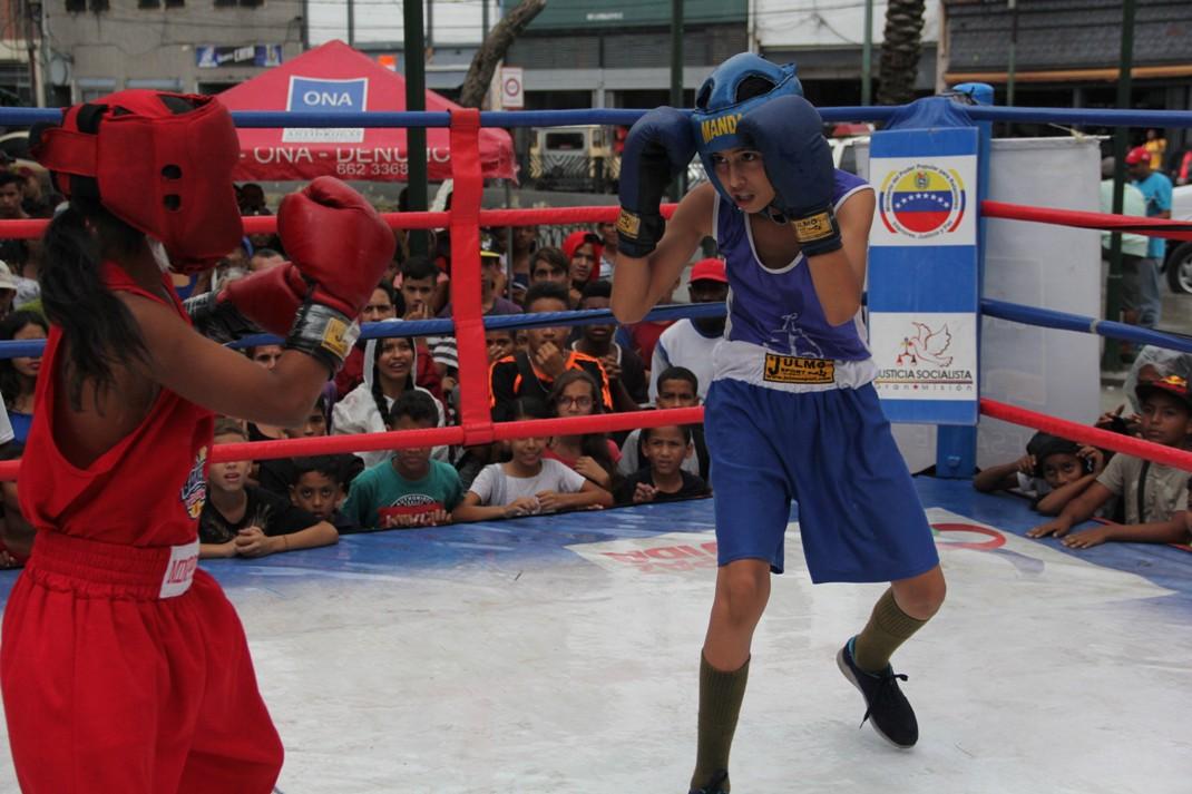 ONA se encuadra con el boxeo por la paz en 12 estados del país (1)