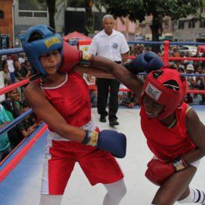 ONA se encuadra con el boxeo por la paz en 12 estados del país (14)