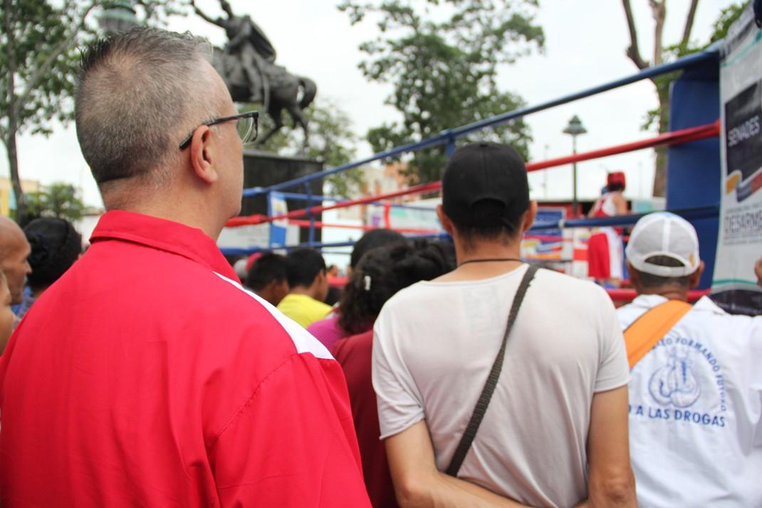 ONA se encuadra con el boxeo por la paz en 12 estados del país (23)