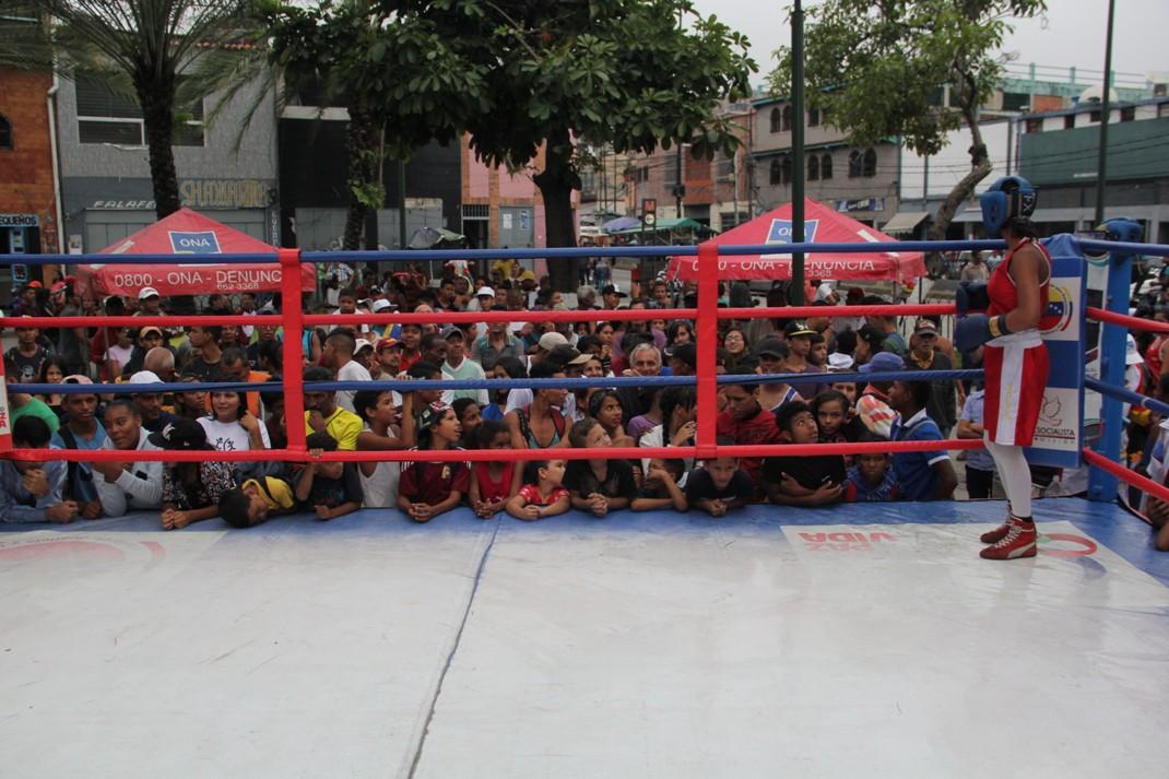 ONA se encuadra con el boxeo por la paz en 12 estados del país (25)