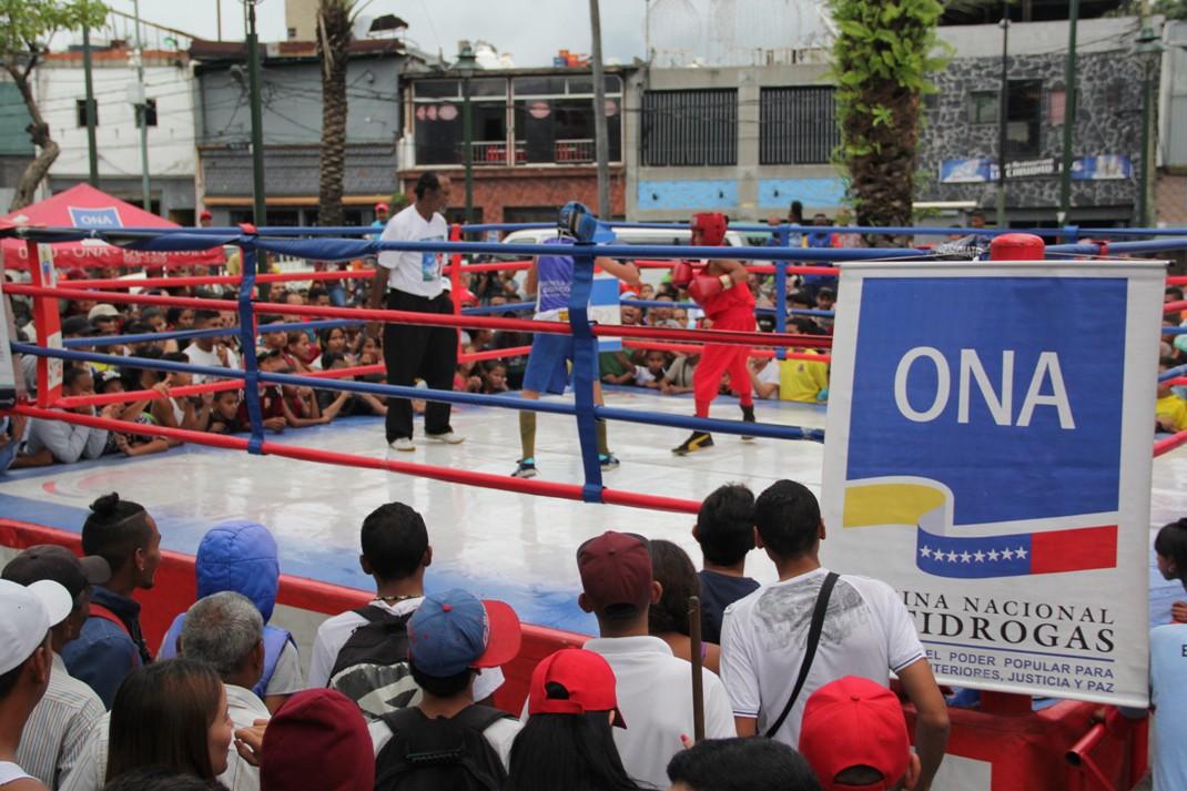ONA se encuadra con el boxeo por la paz en 12 estados del país