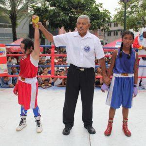 ONA se encuadra con el boxeo por la paz en 12 estados del país (6)