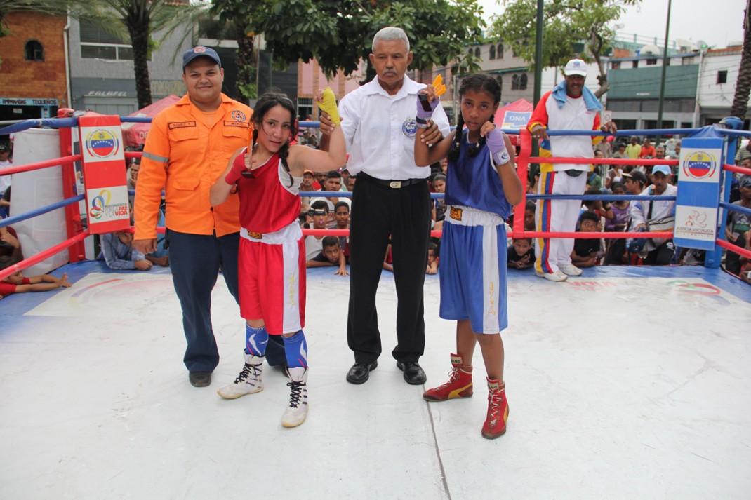 ONA se encuadra con el boxeo por la paz en 12 estados del país (8)
