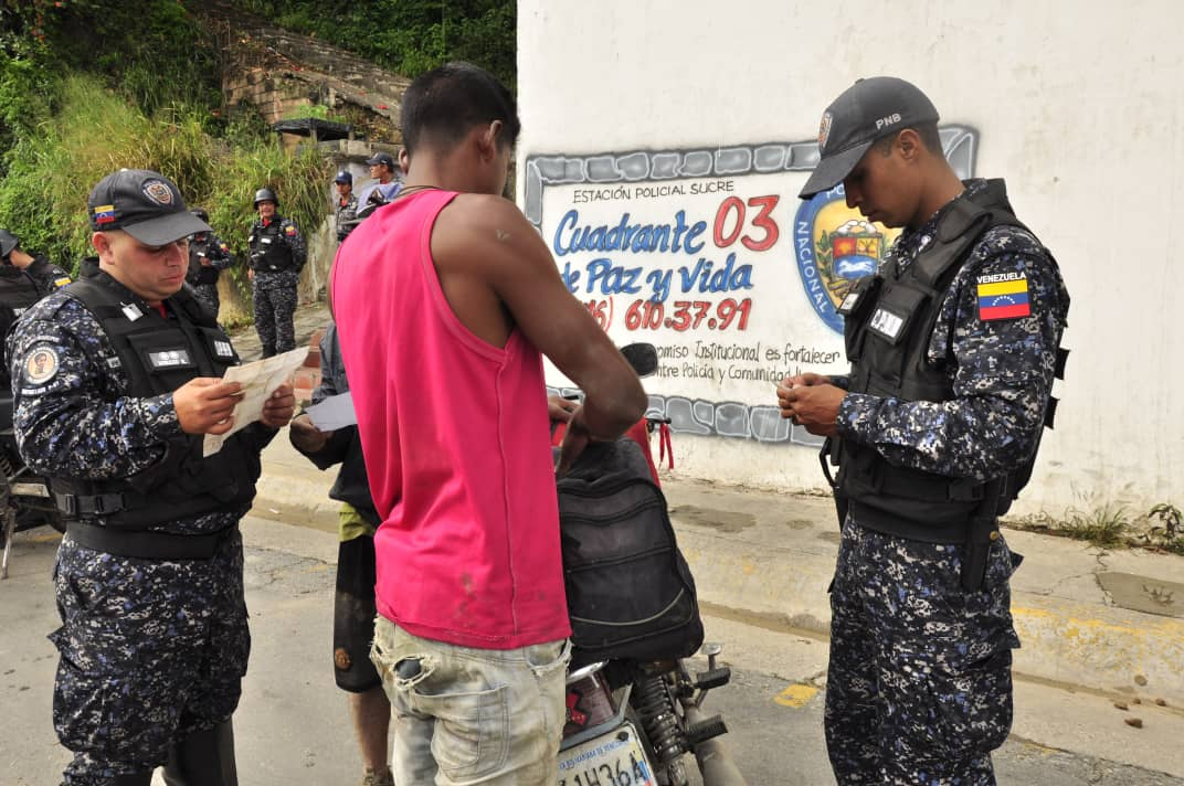 PNB refuerza Cuadrantes de Paz en la parroquia Sucre de Caracas (12)