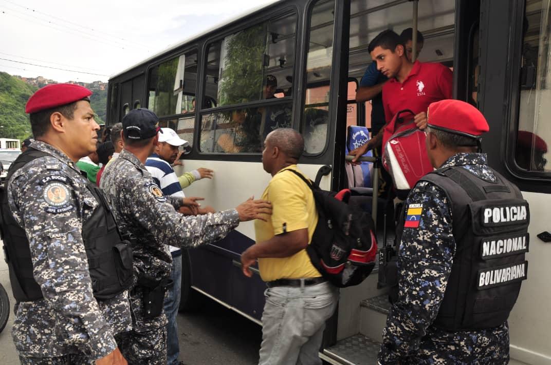 PNB refuerza Cuadrantes de Paz en la parroquia Sucre de Caracas (3)