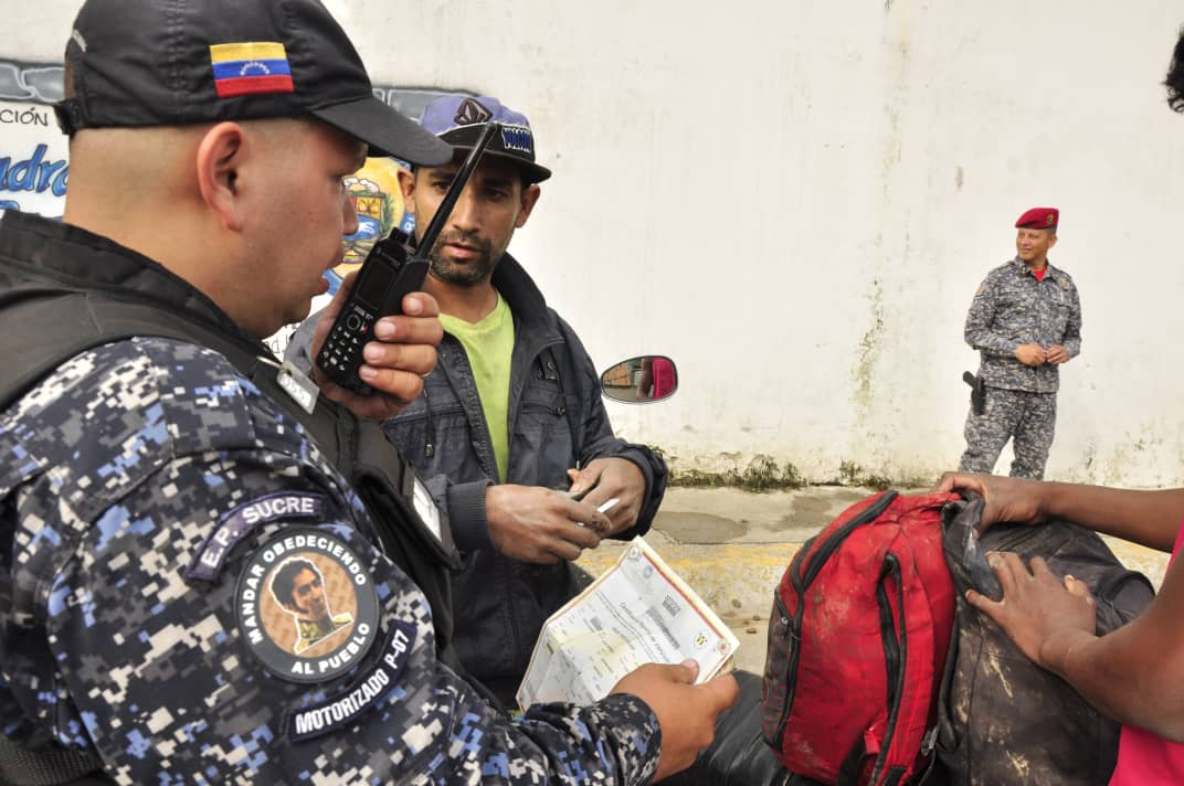 PNB refuerza Cuadrantes de Paz en la parroquia Sucre de Caracas (5)