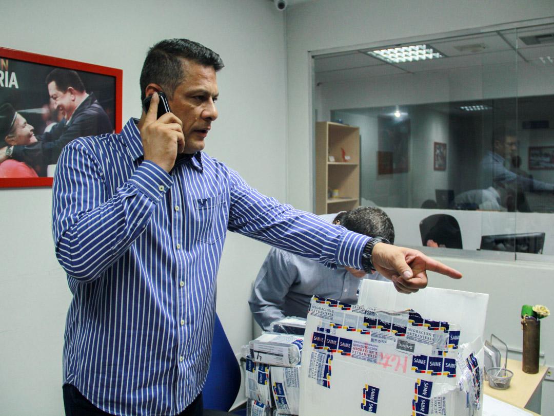 Saime envió más de 170 mil documentos de identidad a oficinas regionales y sedes consulares (2)