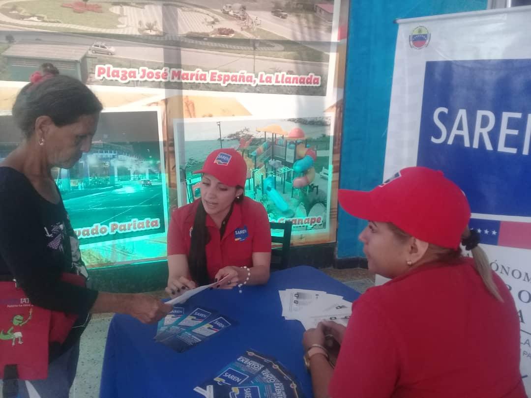 Saren brindó asesorías jurídicas gratuitas y escaneo del VeQR en Vargas (3)