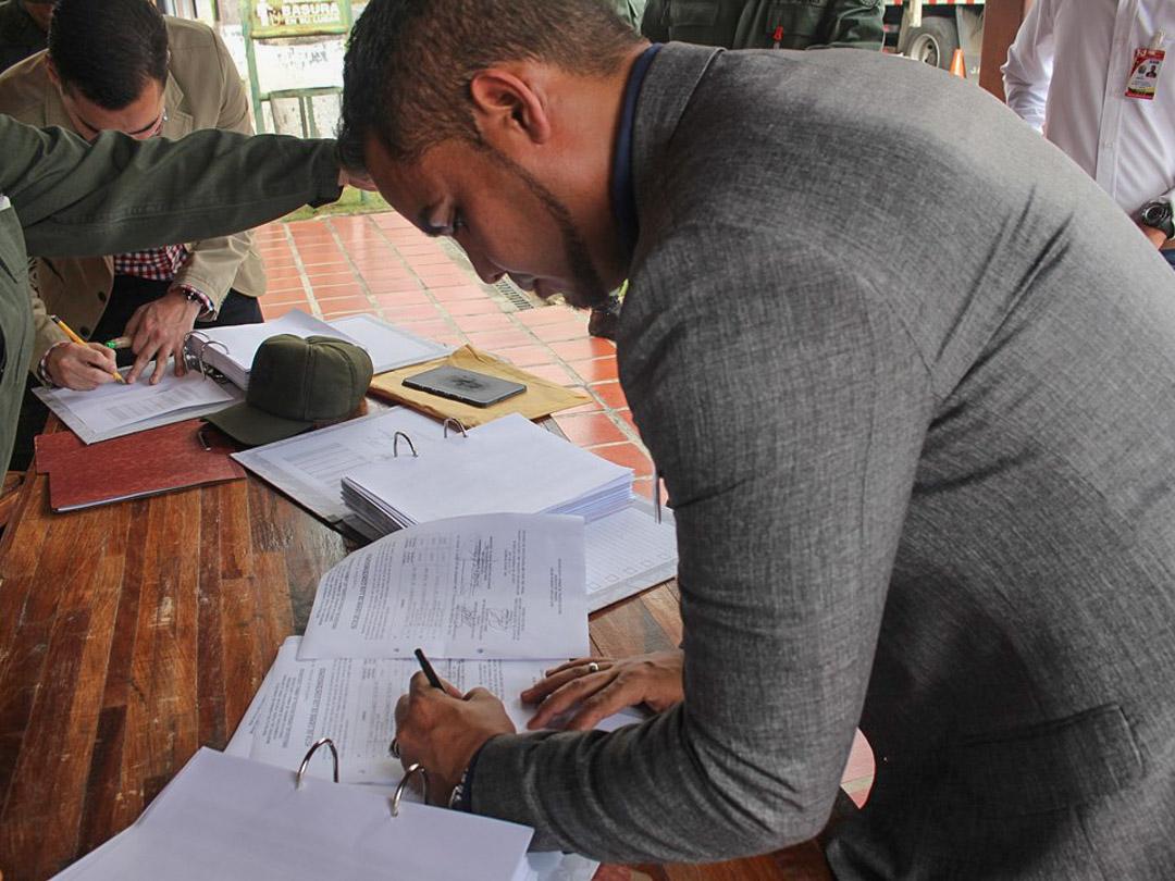 Senades, Daex y MP cumplen protocolo para la destrucción de armas de fuego del 2018 (10)