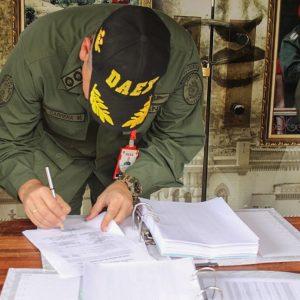 Senades, Daex y MP cumplen protocolo para la destrucción de armas de fuego del 2018 (18)