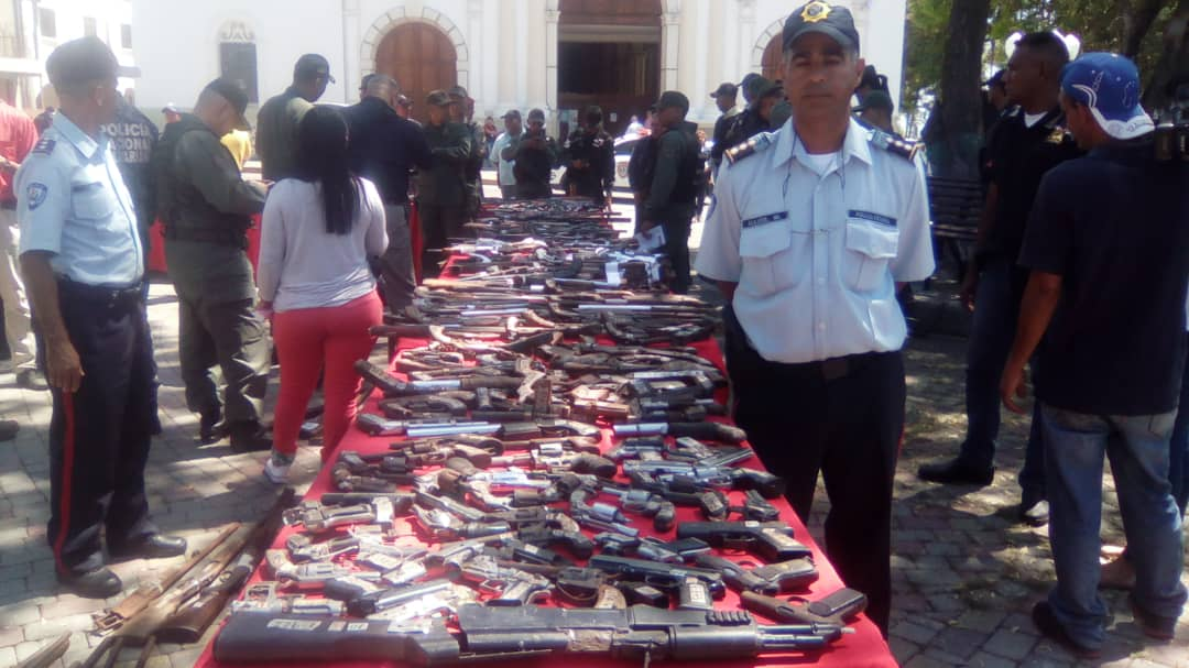 Senades inutilizó un total de 1090 armas de fuego en el estado Lara (11)