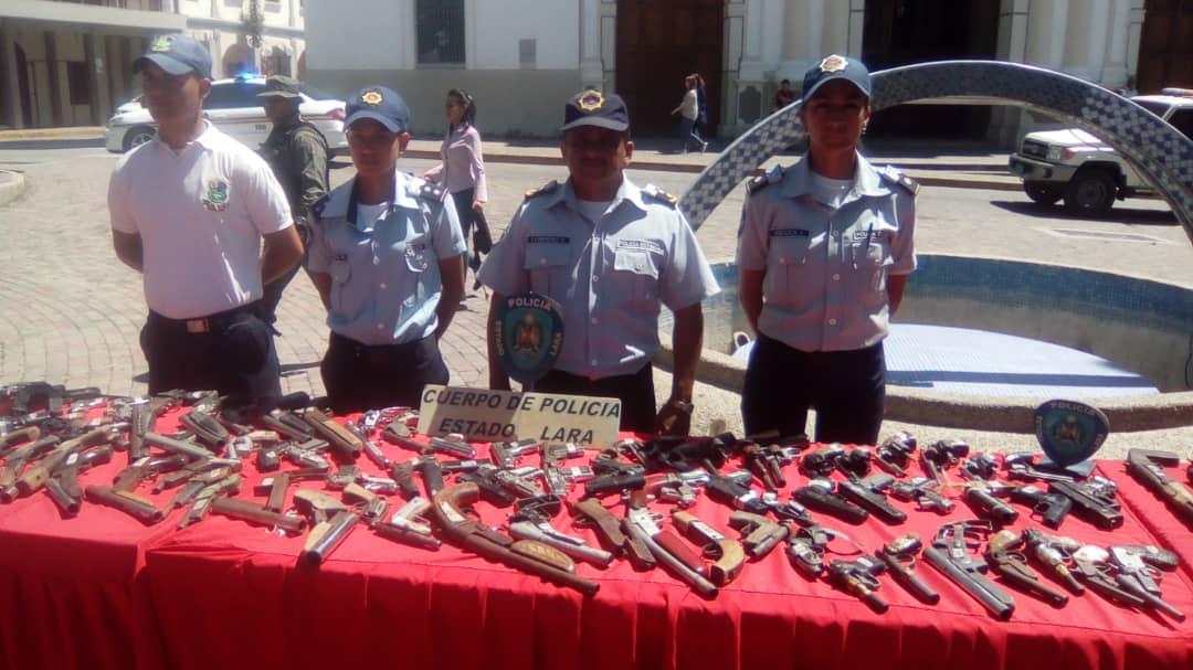 Senades inutilizó un total de 1090 armas de fuego en el estado Lara (7)