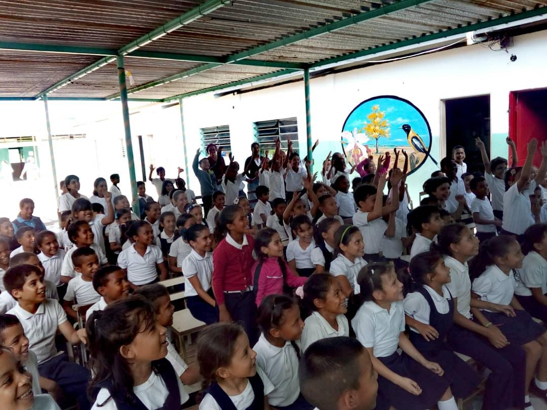Senades promueve valores a más de 130 estudiantes de la E.B Vía Santa Ana en Falcón (5)