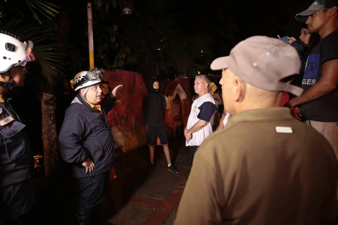 Sistema Nacional de Gestión de Riesgos se desplegó para atender afectaciones en la Gran Caracas (1)