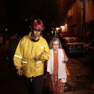 Sistema Nacional de Gestión de Riesgos se desplegó para atender afectaciones en la Gran Caracas (3)