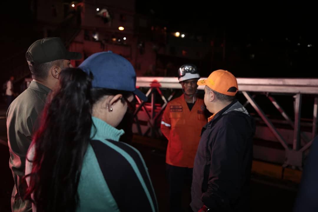 Sistema Nacional de Gestión de Riesgos se desplegó para atender afectaciones en la Gran Caracas (5)