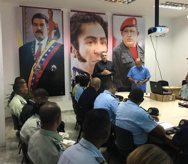 Viceministro Molina supervisa cuerpos policiales del estado Guárico
