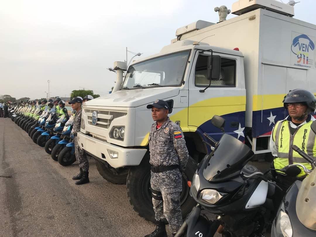 Desplegados 400 efectivos en el eje metropolitano del estado Zulia
