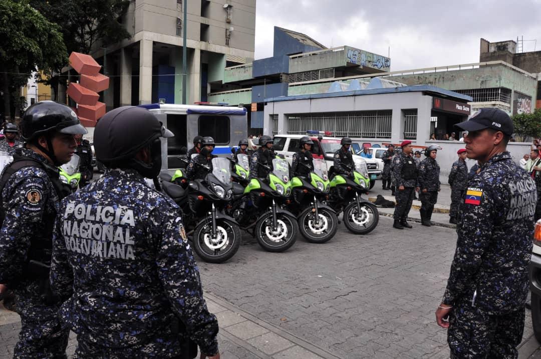 Activado despliegue de seguridad en Cuadrante 7 de la parroquia Sucre de Caracas (5)