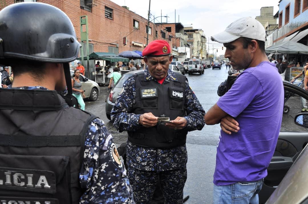 Activado despliegue de seguridad en Cuadrante 7 de la parroquia Sucre de Caracas (6)