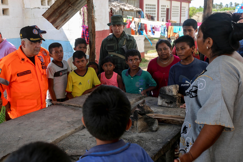 Atendidas más de 200 familias en el municipio Indígena Bolivariano Guajira tras fuertes precipitaciones (6)