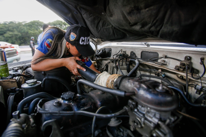 Cicpc inició dispositivo de revisión de vehículos en Caracas (5)