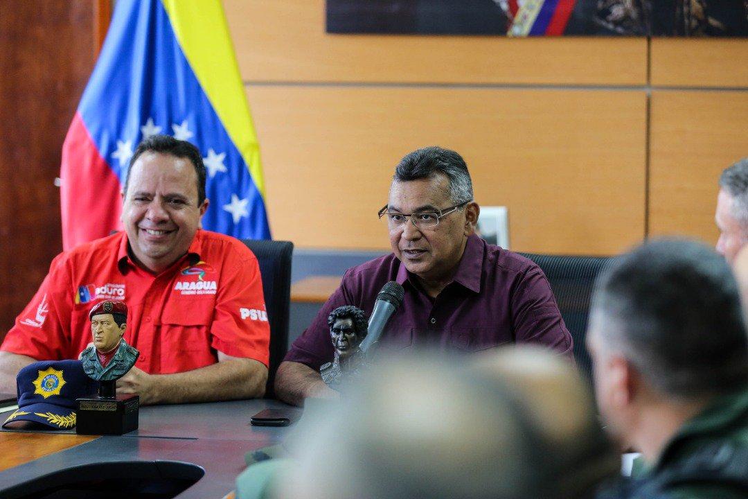 Con nuevo equipamiento refuerzan labor policialen estado Aragua (2)