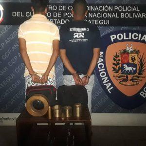 Desmantelada banda dedicada al contrabando de lubricantes en Anzoátegui (4)