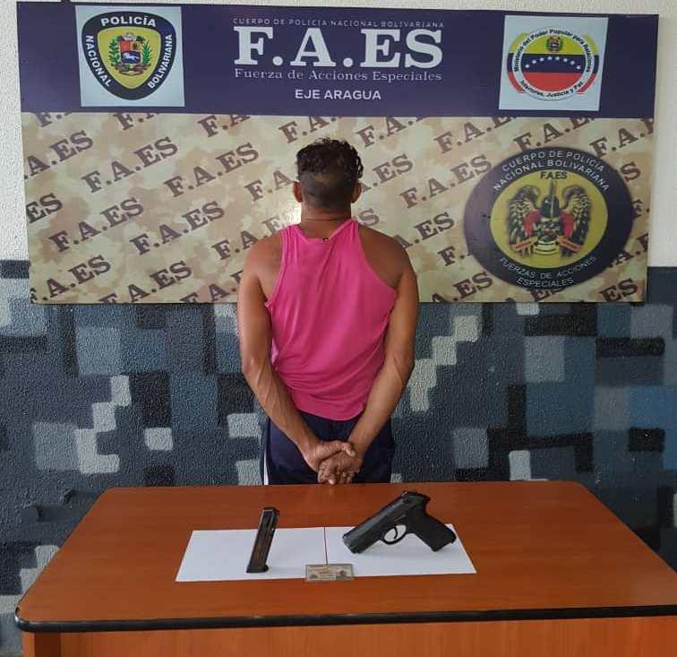 Desmantelada banda delictiva dedicada a la distribución de droga en Caracas-1