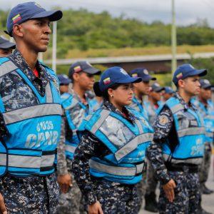 Despliegue del Servicio de la Policía Comunal en el eje Guarenas –Guatire (1)
