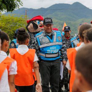 Despliegue del Servicio de la Policía Comunal en el eje Guarenas –Guatire (13)