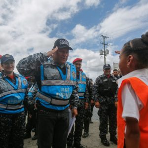 Despliegue del Servicio de la Policía Comunal en el eje Guarenas –Guatire (14)